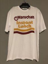 Maruchan Mens Tshirt Instant Lunch XL White Graphic NWT