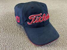 Titleist Golf Hat FootJoy Strapback Cap Black Pro V1 Red ball club shirt polo