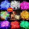 Fairy String Light Lamp 10M 100LED Christmas Outdoor Wedding Party Waterproof