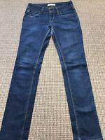 Vintage LEVI'S 571 Blue Slim Fit Womens Jeans 28W 32L 28/32 /J39036