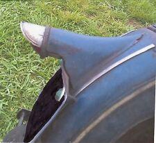 harley davidson early knucklehead flathead vl tail light visor rare item