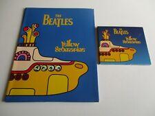 Beatles Yellow Submarine 1999 Press Kit + CD Sampler + Pictures