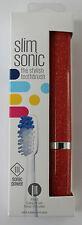 SLIM SONIC CLASSIC elettrico da viaggio spazzolino da denti-VINO Glitter-by violife