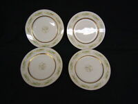 "Lot of 4 Bread & Butter Plates Royal Jackson Fine China ""Autumn"" USA VGC"