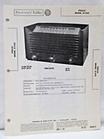 Vintage Howard W Sams Photofact Folder Philco Model 51-934 Radio Parts Manual