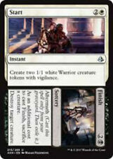 Start // Finish NM X4 Amonkhet Black White DOUBLE Uncommon MTG