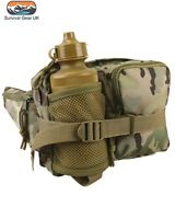 BTP Waist Bag with Bottle Tactical Airsoft Walking Hiking Military Camping Army