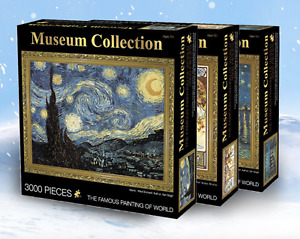 Museum Famous Painting Jigsaw Puzzle 3000 pieces Mother's Day Gift-Van Gogh