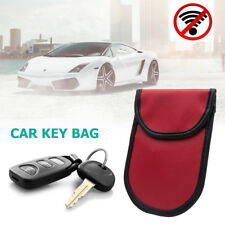 2x Lock Car Key Signal Blocker Keyless Entry Anti-theft Fob Pouch Faraday Bag SA