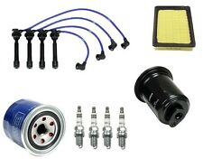 Tune Up Kit Filters Spark Plugs NGK Wire Set fits Hyundai Elantra 99-06 L4 2.0L