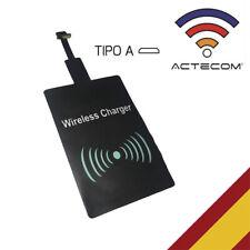 Adaptador Receptor de carga inalambrica Qi wireless Micro USB A - B Tipo
