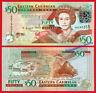 EAST CARIBBEAN STATES CARIBE 50 Dollars dolares 2008 Pick 50  SC / UNC