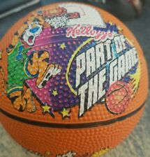 1998 Kellogg's Cereal Part of The Game Mini Basketball Tony the Tiger