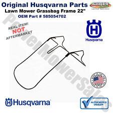 Husqvarna OEM Frame Grassbag 22 for 7022F 7022R HD725E 7022KR,  585054702