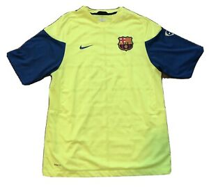 Nike FC Barcelona Prematch Shirt, Size M Messi