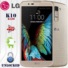 "LG K10 K430DS 4G LTE Android 6.0 (16GB) 13MP 5.3"" HD Unlocked GSM Phone Gold"