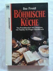 Kochbuch Böhmen Böhmische Küche Powidltascherl Liwanzen Topinky Prager Selchfl