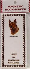 """Australian Cattle Dog #1 Magnetic Bookmarker,""""I Love My Australian Cattle Dog"""""""