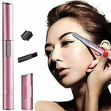 Battery Operatd Eyebrow Trimmer Hair Remover Grooming Lady Shaver Razor Epilator