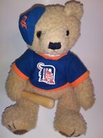 "Good Stuff Detroit  Tigers Baseball Bear  12"" Plush Stuffed Animal"