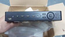 CCTV DVR 8 Channel H.264 Video Recorder VGA USB BNC UK ref 07