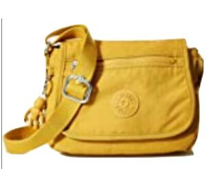 KIPLING SABIAN Mini Shoulder Crossbody Bag Mustard B11
