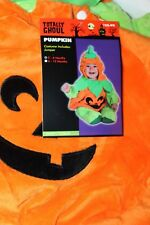 Totally Ghoul  Infant/Toddler Pumpkin Halloween Costume 6-12 Months
