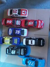 8 1991-1992 NASCAR Racing Champions 1/24th scale 15,21,66,71,1,22,75,94