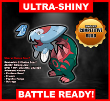 Pokemon Sword/Shield Ultra Shiny Battle Ready Dracovish FAST DELIVERY