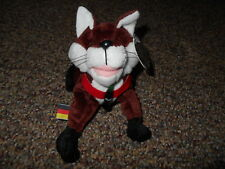 1998 Coca-Cola ##0230 Fannie the Fox Germany Stuffed Plush