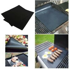 BBQ GRILL MAT - As Seen On TV! Make Grilling Easy! (2 Mats Per Pack) BBQ GRIL O#