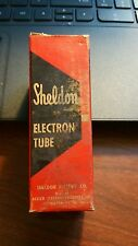 Vintage Sheldon/video 6J5 vacuum tube, used factory second tube. tested good.