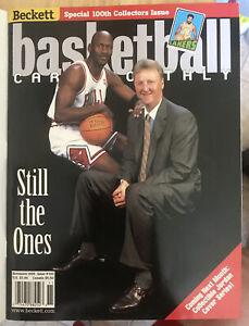 NOVEMBER 1998 MICHAEL JORDAN LARRY BIRD BECKETT MAGAZINE Mint W/cover