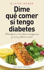 Dime que comer si tengo diabetes (Coleccion Salud y Vida Natural)-ExLibrary
