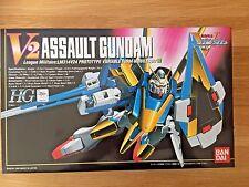 V Gundam HG #6 - V2 Assault Gundam 1/100 Plastic Variable Bandai (Vintage)