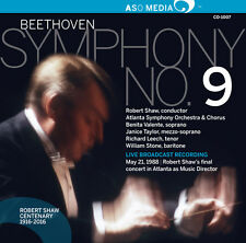 L.V. Beethoven / Wil - Ludwig Van Beethoven: Symphony No. 9 [New CD]