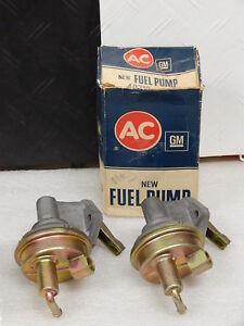 NOS USA made GM #40482 Style Fuel Pump 1967-69 Corvette 427 AC Embossed