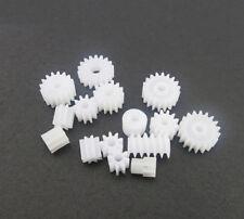 15 Types Plastic Main Shaft Gear Pack Motor Gear Four-wheel Motor Worm