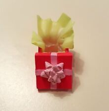 Re-Ment Mini Sweets #3 Dollhouse Miniature Pink Birthday Present Box NEW 1:6