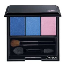 Shiseido Luminizing Satin Eye Color Trio Eye Shadow in BL310 Punky Blues