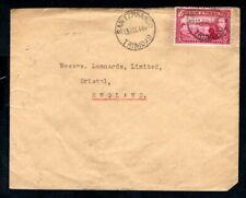 Trinidad & Tobago - 1944 KGVI Cover to Bristol, England