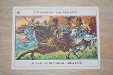 Belgische Geschiedenis - Histoire de Belgique - 9 - invasion des Huns Attila 451