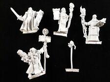 40K Metal Inquisitor Retinue : Acolyte x2, Crusader, Dialogus, Servo Skull (5)