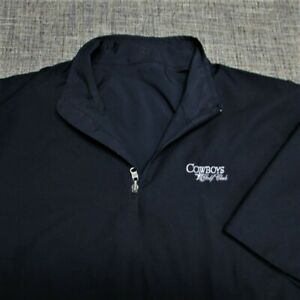ZERO RESTRICTION POLY SHORT SLEEVE GOLF PULLOVER--COWBOYS G.C,--TOP QUALITY!