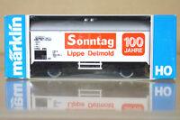 MARKLIN MäRKLIN 4415 K8081 DB SONNTAG LIPPE DETMOLD 100 JAHRE Kühlwagen nc