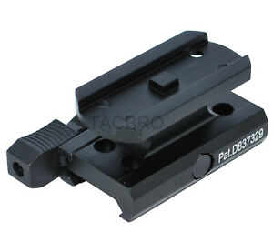 New AIM Sports Red Dot Quick Release Mount Riser Absolute Co-Witness