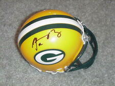 Aaron Rodgers Signed Packers Mini Helmet   Steiner Sports COA