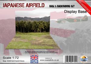 Coastal Kits 1:72 Scale Japanese Airfield Base & Background set