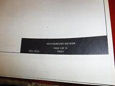 s l225 car & truck manuals & literature for mercury monterey ebay 1956 Mercury Wiring Diagram at gsmportal.co