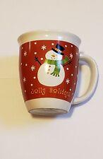 Jolly Holidays Snowman mug